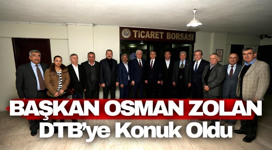 Başkan Osman Zolan DTB'ye Konuk Oldu - OBJEKTİF DENİZLİ HABER