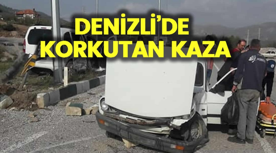 DENİZLİ'DE KORKUTAN KAZA - OBJEKTİF DENİZLİ HABER
