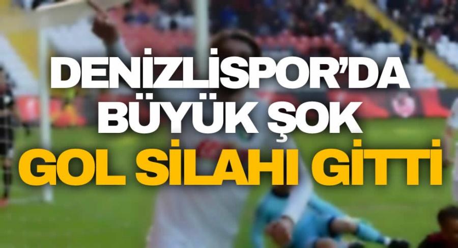 Denizlispor'da Büyük Şok