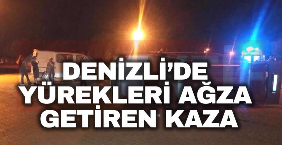 DENİZLİ'DE YÜREKLERİ AĞZA GETİREN KAZA - OBJEKTİF DENİZLİ HABER