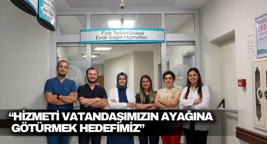 """""""HİZMETİ VATANDAŞIMIZIN AYAĞINA GÖTÜRMEK HEDEFİMİZ"""" - OBJEKTİF DENİZLİ HABER"""