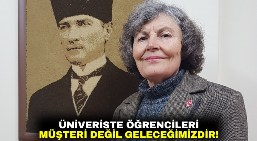 ÜNİVERİSTE ÖĞRENCİLERİ MÜŞTERİ DEĞİL GELECEĞİMİZDİR!