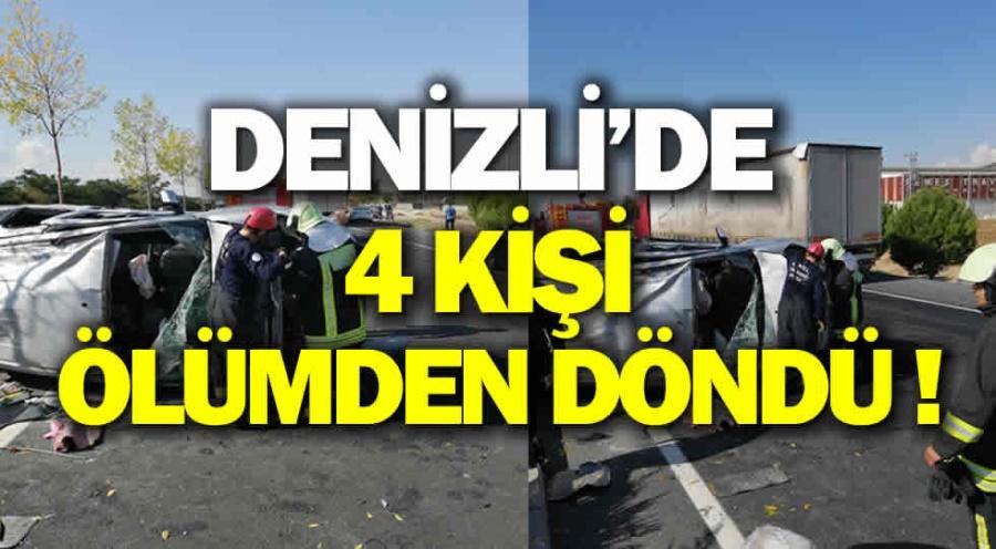DENİZLİ'DE KAZA!