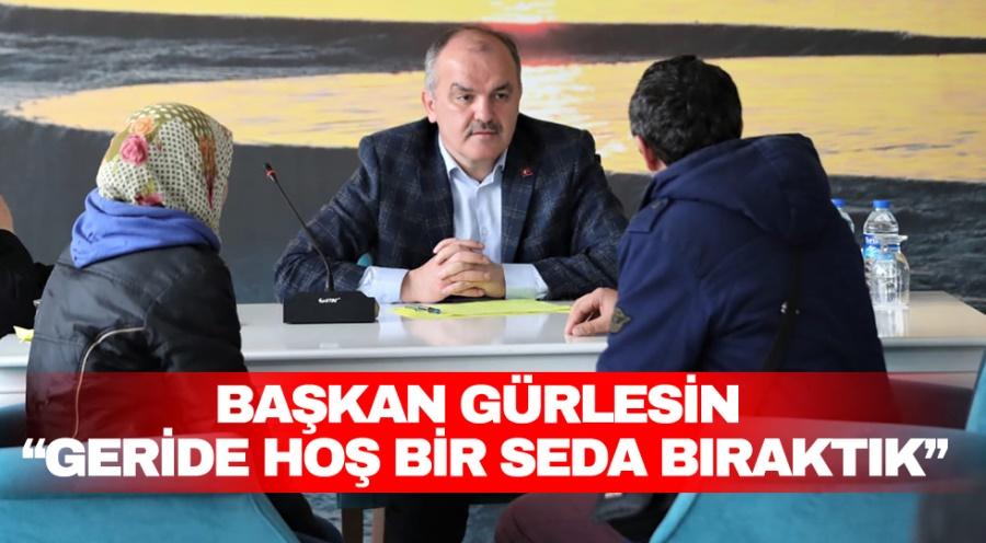 """""""GERİDE HOŞ BİR SEDA BIRAKTIK"""""""