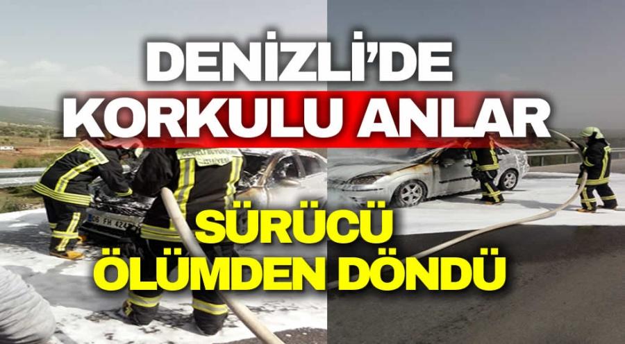 DENİZLİ'DE KORKULU ANLAR