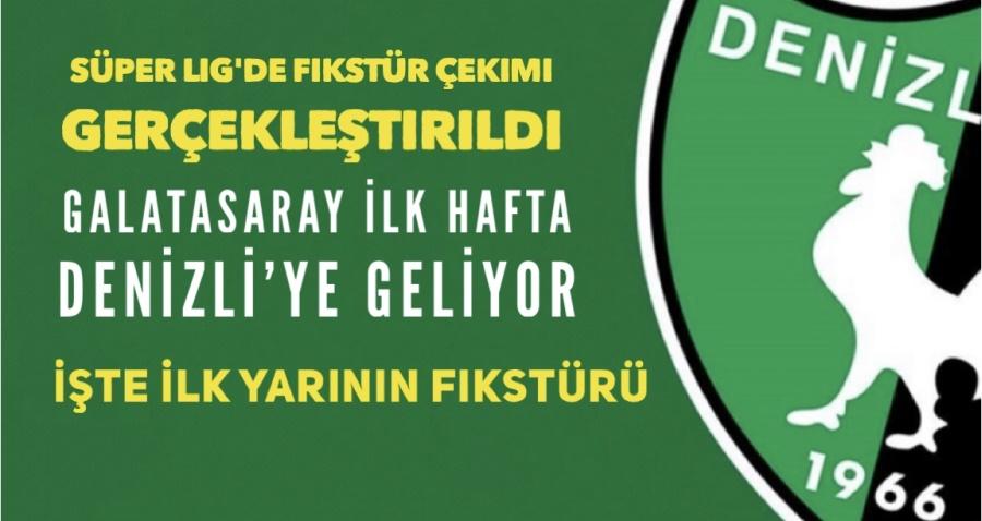 Süper Lig'de Fikstür Çekimi Gerçekleştirildi