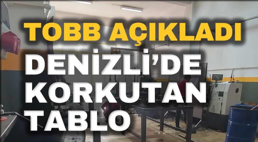 DENİZLİ'DE KORKUTAN TABLO