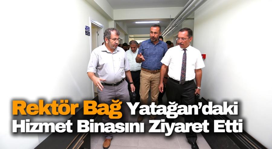 Rektör Bağ ve Üniversite Yönetimi İslami İlimler Enstitüsünün Yatağan'daki Hizmet Binasını Ziyaret Etti - OBJEKTİF DENİZLİ HABER