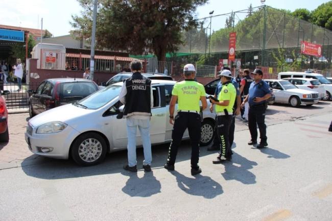 DENİZLİ'DE POLİS OPERASYON YAPTI VELİLER DESTEK VERDİ - OBJEKTİF DENİZLİ HABER