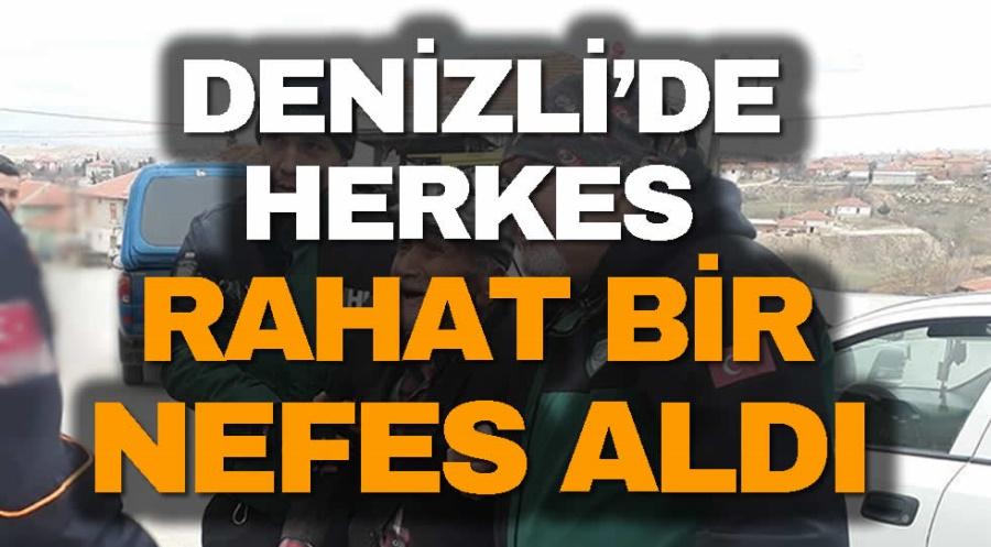 DENİZLİ'DE HERKES RAHAT BİR NEFES ALDI - OBJEKTİF DENİZLİ HABER