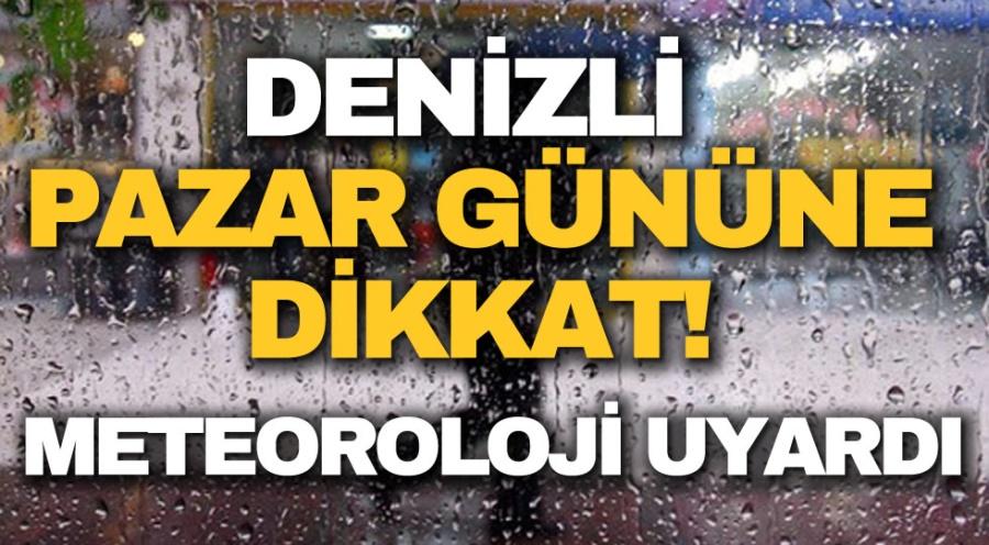 DENİZLİ PAZAR GÜNÜNE DİKKAT  - OBJEKTİF DENİZLİ HABER