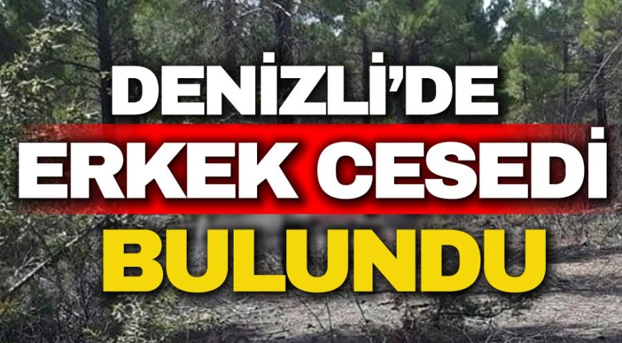 DENİZLİ'DE ERKEK CESEDİ BULUNDU - OBJEKTİF DENİZLİ HABER