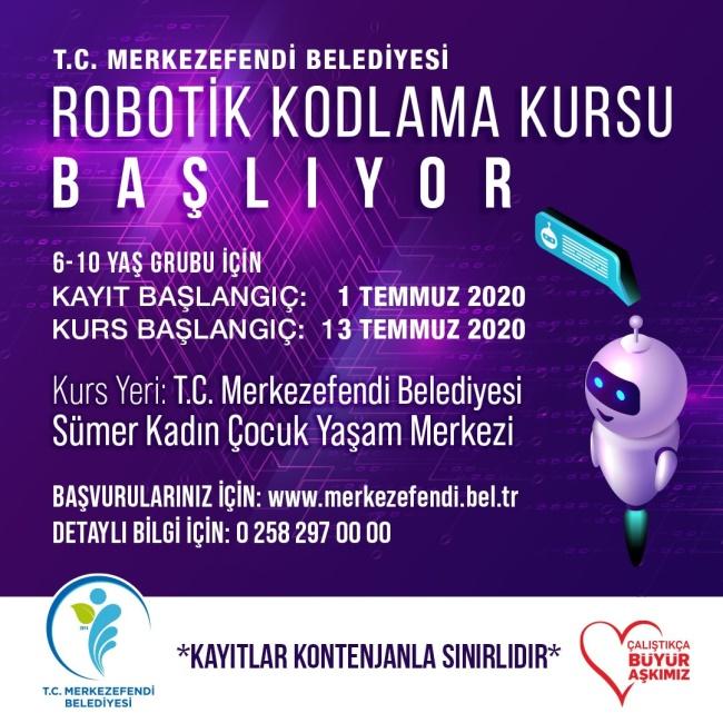 ROBOTİK KODLAMA KURSU AÇIYOR - OBJEKTİF DENİZLİ HABER