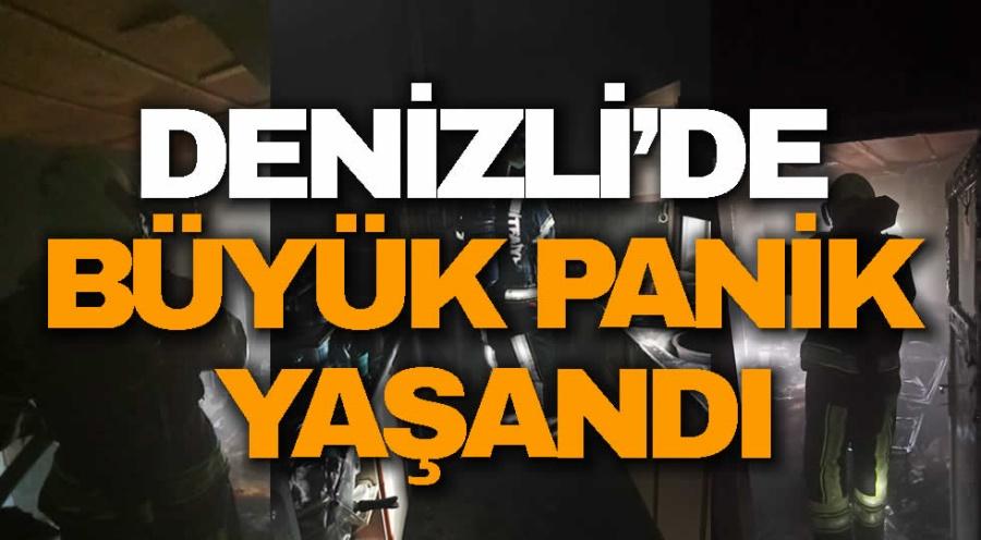 DENİZLİ'DE BÜYÜK PANİK YAŞANDI - OBJEKTİF DENİZLİ HABER