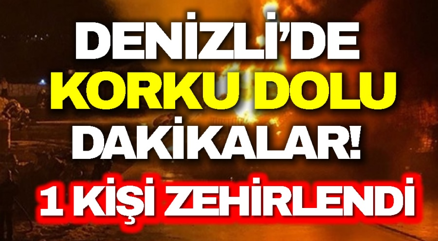 DENİZLİ'DE KORKU DOLU DAKİKALAR!  - OBJEKTİF DENİZLİ HABER