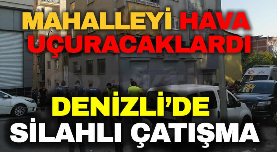 DENİZLİ'DE SİLAHLI ÇATIŞMA - OBJEKTİF DENİZLİ HABER