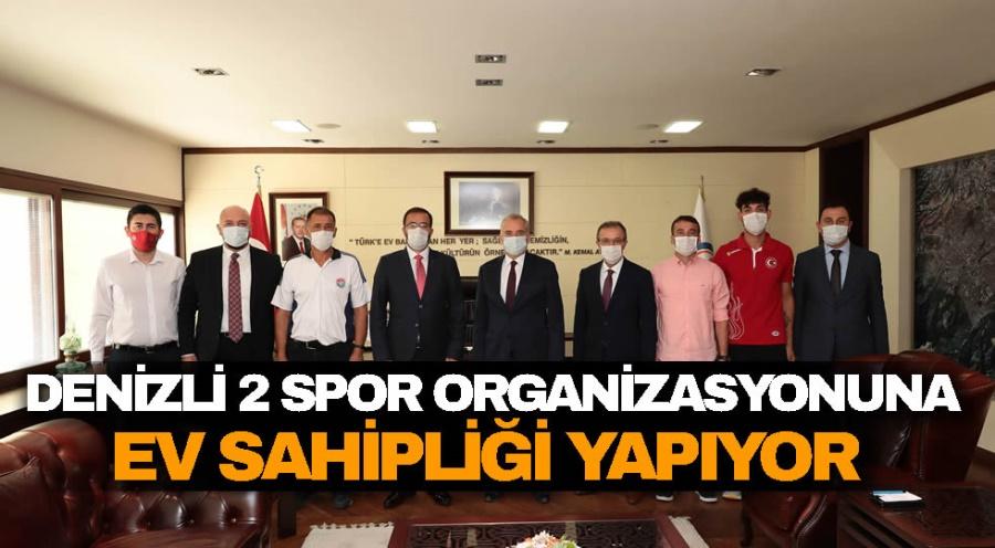 DENİZLİ 2 SPOR ORGANİZASYONUNA EV SAHİPLİĞİ YAPIYOR  - OBJEKTİF DENİZLİ HABER