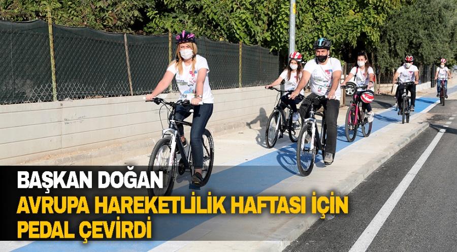 Başkan Doğan Avrupa Hareketlilik Haftası İçin Pedal Çevirdi - OBJEKTİF DENİZLİ HABER